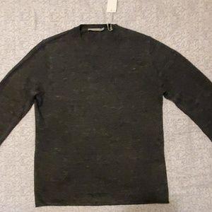 Vince Raw Hem Trim Fit Sweater